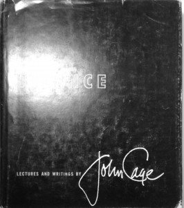Cover image for John Cage's book entitled Silence