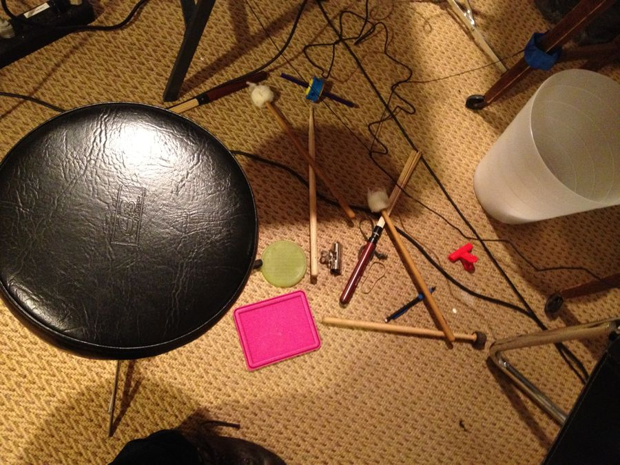 image of Drumsticks, Mallets, Toys and Other Objects Used In Performance